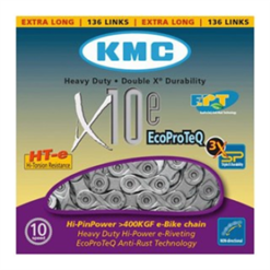 KETTING X10 ECOPROTEQ 10 SPEED 114L. ZILVER
